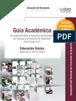 Guia Academica para el supervisor. 2017