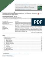 Nanomateriales Basados en Sensores Electroquímicos y Plataformas de Biosensores