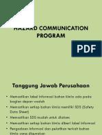 Hazard Communication Program