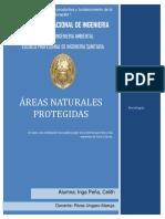 AREAS NATURALES PROTEGIDAS -Anp