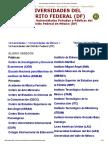 Universidades Del Distrito Federal - DF (Privadas y Públicas)