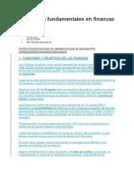 Conceptos Fundamentales en Finanzas