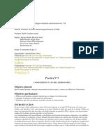 Practicas CBTis 134 bacteriología