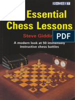 231337059 50 Essential Chess Lessons Steve Giddins