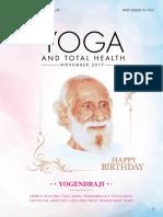 Yoga and Total Health November 2017