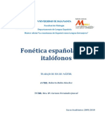 Fonética española para italófonos