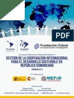 Programa para el Diplomado Superior en Gestión de la Cooperación Internacional para el Desarrollo Sostenible en República Dominicana