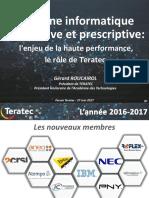 01 Gerard Roucairol Forum Teratec 2017