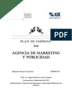 NAVARRO - Plan de Empresa. Agencia de Marketing y Publicidad.