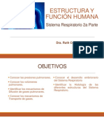 22a Sesión Estructura y Función Sistema Respiratorio 2a parte
