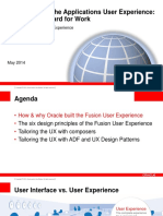 Cloud User Experience Overview
