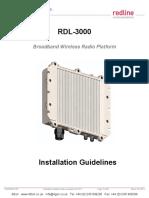 Redline Rdl3000 Installation Guidelines