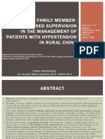 Use of Family Member-based Supervision