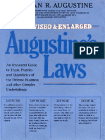 Norman R. Augustine Augustines Laws and Major System Development Programs Revised and Enlarged 1984