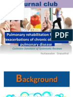 Journal Club Pulmonary Rehab in COPD