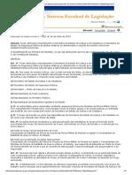 Decreto 1592 de 2003 - Estado Do Paraná