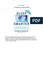 Book Summary Sleep Smarter