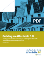 Building an Affordable B.C.