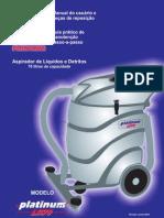 Equipamento de limpeza  aspirador profissional LD70