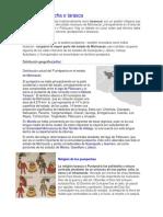 Cultura Purépecha o Tarasca