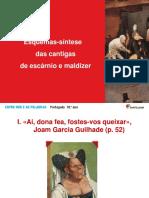 11330 Esquema Síntese Das Cantigas