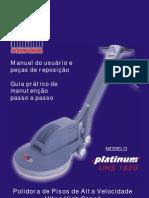 Equipamento de limpeza polidora UHS 1600