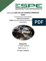 Informe Cajas Automaticas ,,