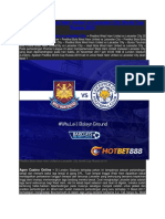 Prediksi Bola West Ham United vs Leicester City World Cup Russia 2018