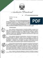 R.D. 109-2016-PNSR