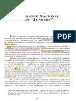 Weber, M. O Caráter Nacional e Os Junkers