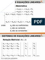 Métodos Para Solução de Sistemas Lineares