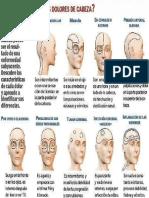 Patologia Segun El Tipo de Dolor de Cabeza