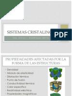Sistemas cristalinos