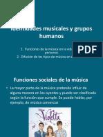 Identidades Musicales y Grupos Humanos 2015