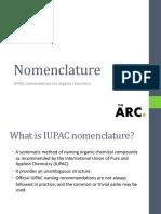 Nomenclature (2)