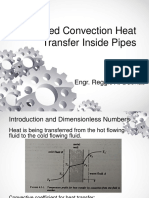 Forced Convection Heat Transfer Inside Pipes