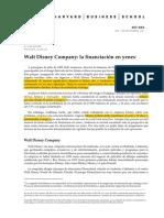 Walt Disney Yen Financing Case Español