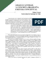 Felipe Cussen Concretismo y Conceptualismo