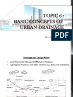 Basic Concepts of Urban Drainage