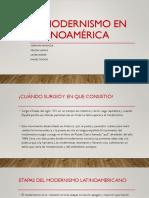 El modernismo en Latinoamérica.pptx