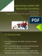 Concepciones Sobre Del Desarrollo Humano en el Mundo Moderno de Chile