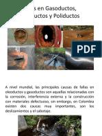 Fallas en Gasoductos, Oleoductos y Poliductos