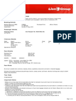 Lion Air ETicket (IVPAQH) - Za