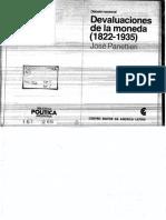 Panettieri - Devaluaciones de La Moneda