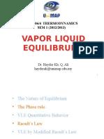 Vapor Liquid Equilibrium.pptx