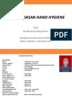 Konsep Hand Hygiene