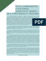 Las Tic en El Componente Ejército Nacional Bolivariano en El Marco de La Seguridad y