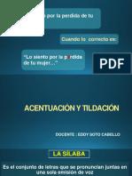 ACENTUACIÓN Y TILDACIÓN.pptx