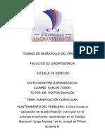 PROYECTO DE INVESTIGACIÓN carlos tubon