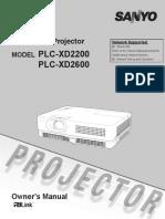 Projector Manual 5614